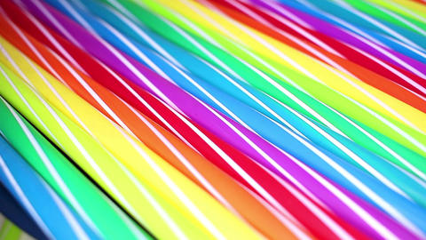 Colorful artsy fancy straw closeup background texture pattern Live Action