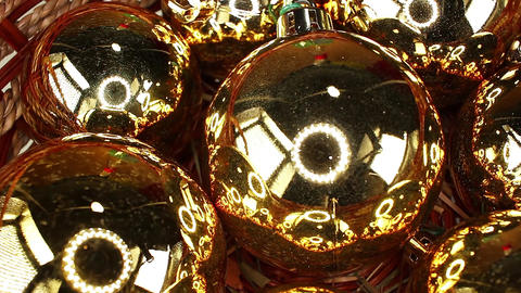 Christmas ornaments bauble baubles glass ball balls decor decorations ornament Live Action