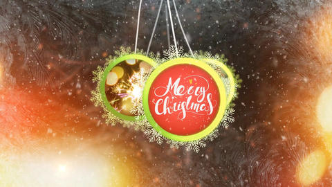 Christmas Logo Reveal After Effects Template