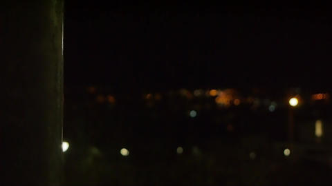 Night City Bokeh Footage