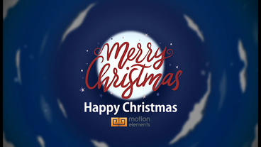 Happy Christmas After Effects Template