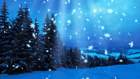 Happy New Year,Christmas,3d winter background 2017 Animation