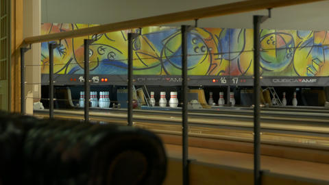 The Bowling Pin Setter Footage