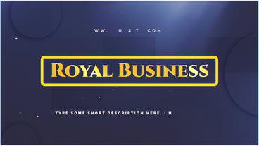 Royal Business After Effects Template
