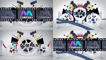 Cinematic Movie Logo Reveals After Effects Template