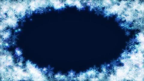 Winter background loop 02 Footage