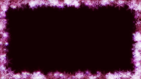 Winter background loop 08 Footage