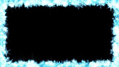 Winter background loop 11 Footage
