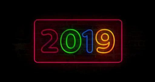 2019 light neon animation Animation