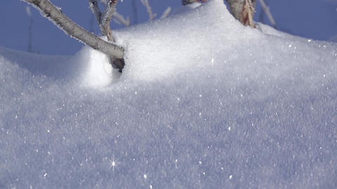 Background with Fresh Shiny Snow GIF