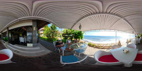 restaurant by the sea vr360 VR 360° Video