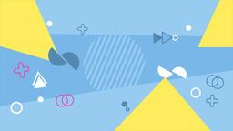 4K Geometry Background Loop Animación