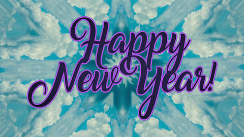 New Year Background Animation