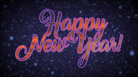 New Year Background Stock Video Footage