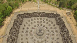 Borobudur Buddhist Temple ビデオ