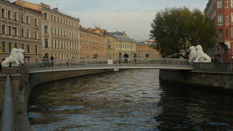 Lion bridge, Bridge lovers dating in St. Petersburg Archivo