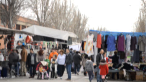City Winter Outdoors Market GIF