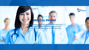 Medicine - Medical Opener After Effects Template