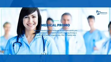 Medical Health Promo 애프터 이펙트 템플릿