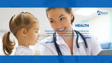 Medical Health Promo After Effects Template