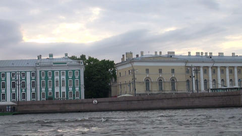 Kunstkamera in St. Petersburg Stock Video Footage