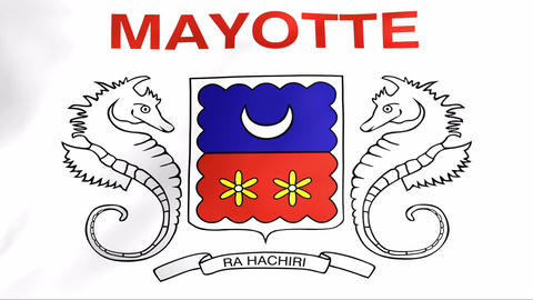 Flag Of Mayotte Animation