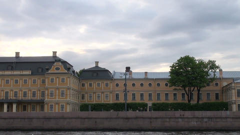 Menshikov Palace in St. Petersburg Footage