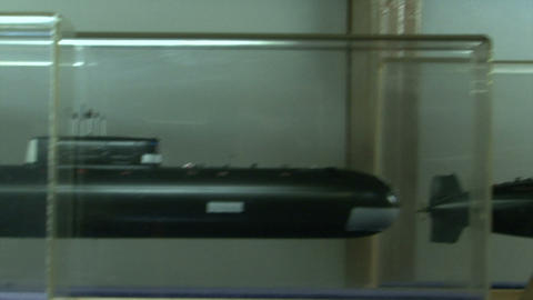 Models of submarines Footage