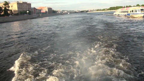 Motor boats Stock Video Footage
