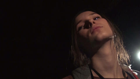 Beautiful girl Stock Video Footage