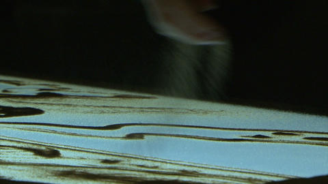 The picture of the sand Stock Video Footage