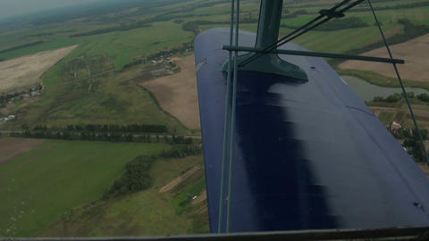 View from a cockpit Footage