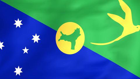 Flag Of Christmas Island Animation