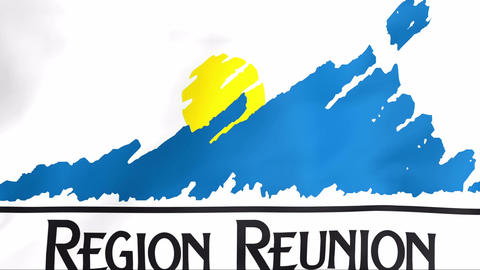 Flag Of Reunion Animation