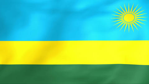 Flag Of Rwanda Animation