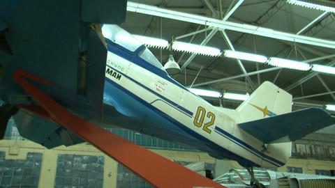 The single plane Stock Video Footage