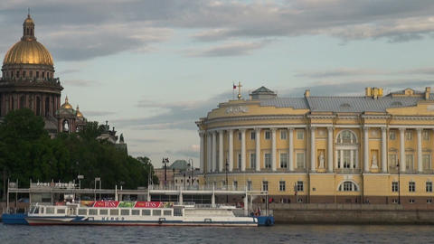 The Senate and the Synod in St. Petersburg Footage