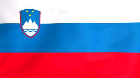 Flag Of Slovenija Animation