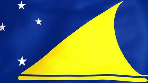 Flag Of Tokelau Animation