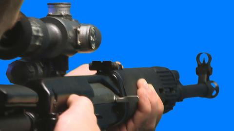 Guns Stock Video Footage