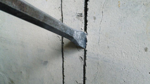 Hammer drill Stock Video Footage
