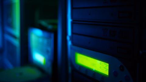 Mass storage device Stock Video Footage