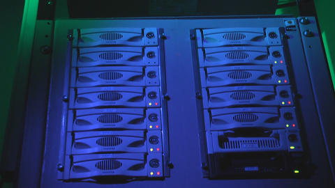 Network server Stock Video Footage