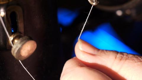 Rare sewing machine Filmmaterial
