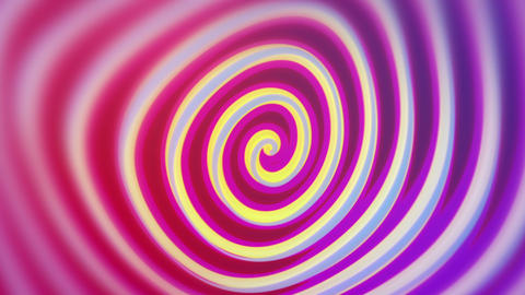 Spirelli - Funny Rotating Spiral Video Background Loop Stock Video Footage