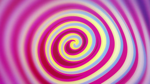 Spirelli - Funny Rotating Spiral Video Background Loop stock footage