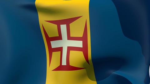 Flag of Madeira Animation