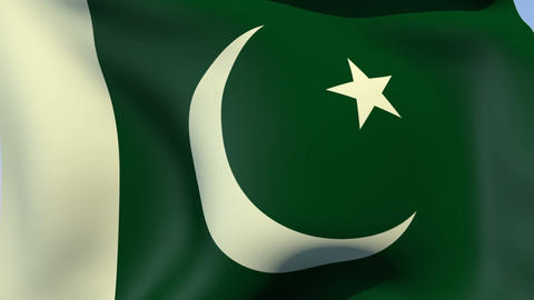 Flag of Pakistan Animation