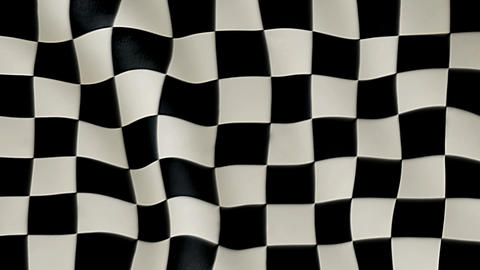 checkered flag Stock Video Footage