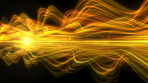 Light Streaks Background - Fractal Background 08 (HD) Stock Video Footage